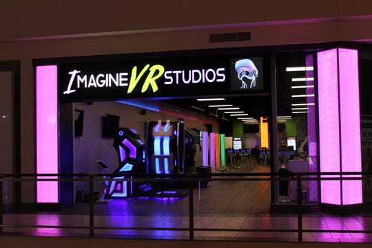 Imagine VR Studios storefront within the Jefferson Valley Mall in Yorktown Heights.