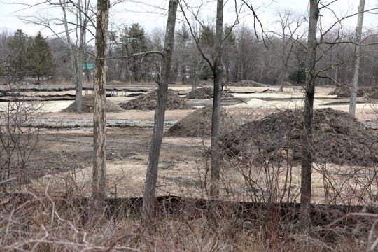 The site of the planned Valley Fields Golf Course off Route 6 in Jefferson Valley/Shrub Oak, pictured, March 6, 2020.