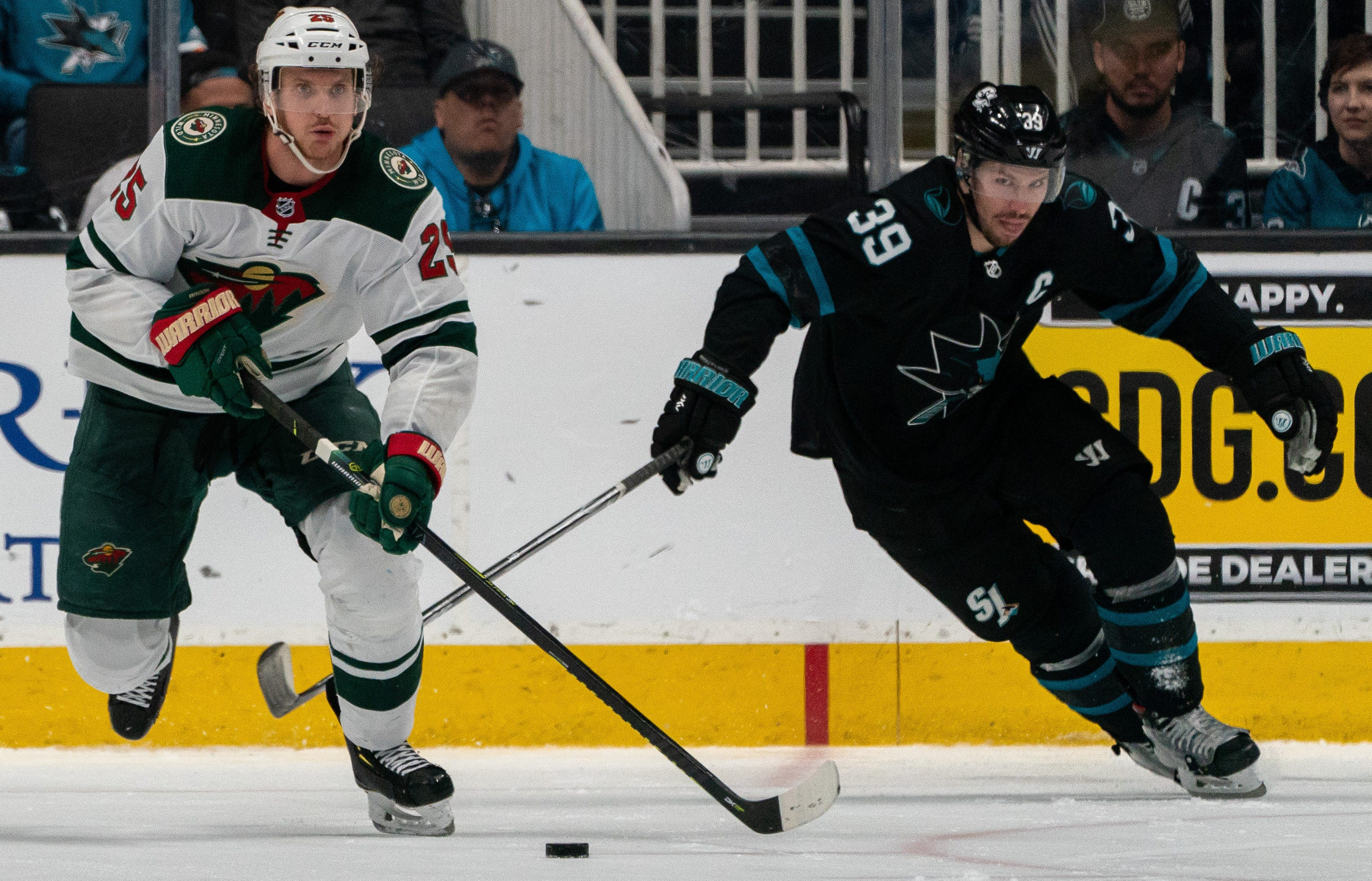 The San Jose Sharks played host to the Minnesota Wild on March 5, 2020, despite Santa Clara County public health officials recommending large events be cancelled.
