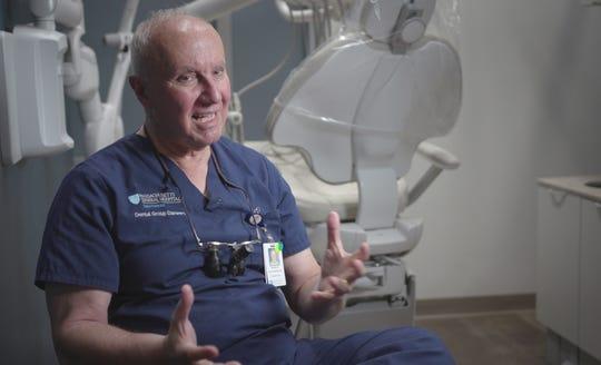 Dr. Nicholas Dello Russo, a periodontology instructor at Harvard School of Dental Medicine and dentist at Massachusetts General Hospital