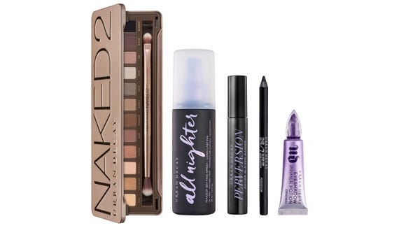 Now's the time to stock up on all your favorite Urban Decay products.