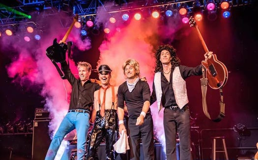 Queen Nation are on stage March 14 at The Point Casino in Kingston.