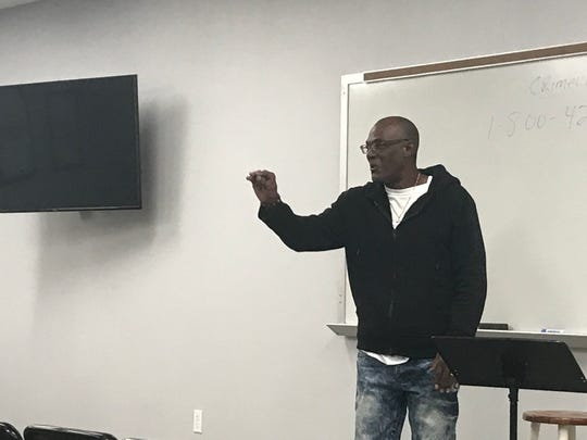 Pastors, police officers, members of the NAACP and concerned citizens showed up to voice their concerns over violence in the city—and how to stop it.Rev. Morris Mallett led the meeting.
