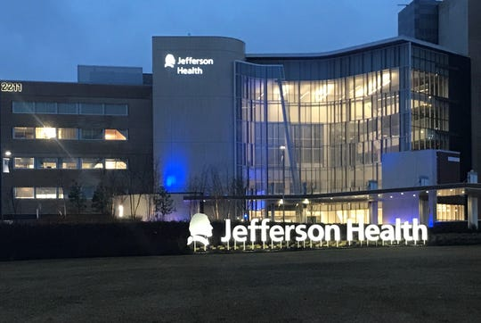 A Cherry Hill man being treated for the coronavirus at Jefferson Cherry Hill Hospital is improving, a Camden County freeholder said Wednesday.