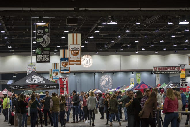 Hundreds of beer enthusiasts gathered at Duke Energy Convention Center on March 6 and 7, 2020, for the Cincy Beerfest. The event featured over 120 beers from local and national breweries.