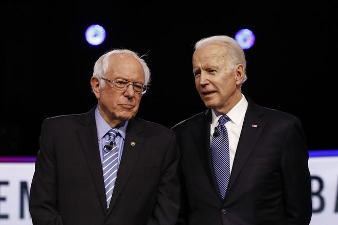 Vermont Sen. Bernie Sanders and former Vice President Joe Biden canceled rallies in Cleveland Tuesday after Ohio health officials expressed concerns about coronavirus.
