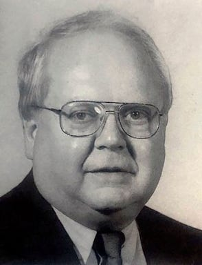 Dr. Robert Anderson, as pictured in the 1992 University of Michigan football media guide.