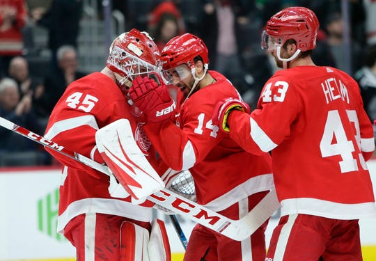 The Red Wings join six other teams in sitting out this NHL postseason.