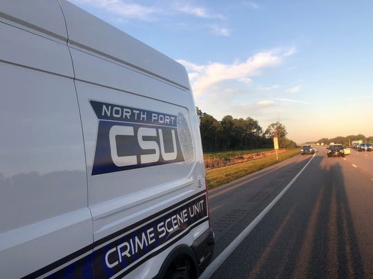 The fatal shooting of a male driver along I-75 in Sarasota County is being investigated by the North Port Police Department. The shooting death investigation has closed a section of southbound I-75 near Sumter Road.