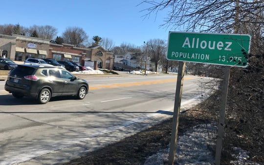 The village of Allouez adjacent to Green Bay now has a name for its residents: Alloueznians.