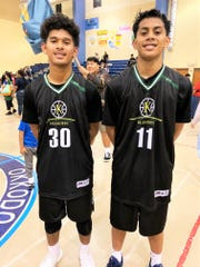 No. 30 Jeremiah Kintoki and No. 11 Rodson Simina combined to score more than half of JFK's point total in a stunning 80-68 win over the higher-seeded Okkodo Bulldogs.
