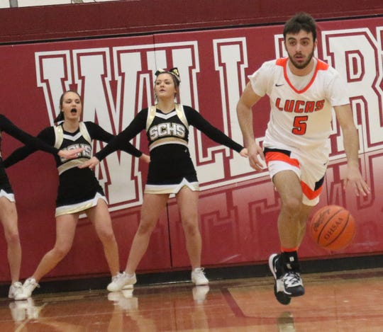 Lucas' Ethan Sauder is the floor general for the Cubs and his leadership will be key in the regional semifinal on Tuesday.