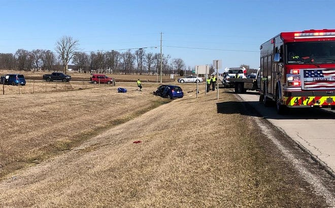 Three vehicles were involved in a crash Saturday morning at the junction of U.S. 23 South and Newmans-Cardington Road in Marion County. The crash is still under investigation, according to troopers from the Marion Post of the Ohio Highway Patrol.