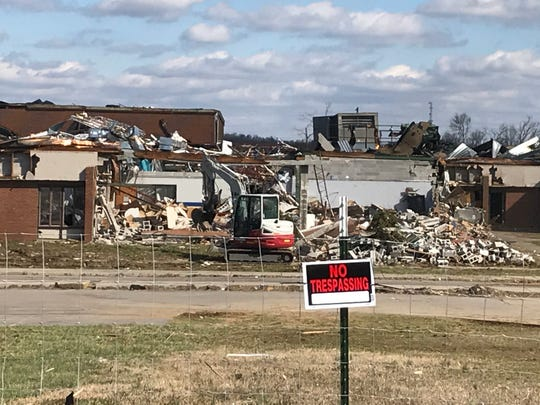 West Wilson Middle School in Mt. Juliet was by a tornado March 3, 2020. Students there will relocate to Mt. Juliet Middle for the rest of the school year.