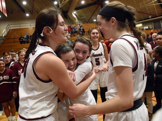 Newark won a Division I regional title on March 6 but was unable to compete in the state tournament because of the coronavirus outbreak.