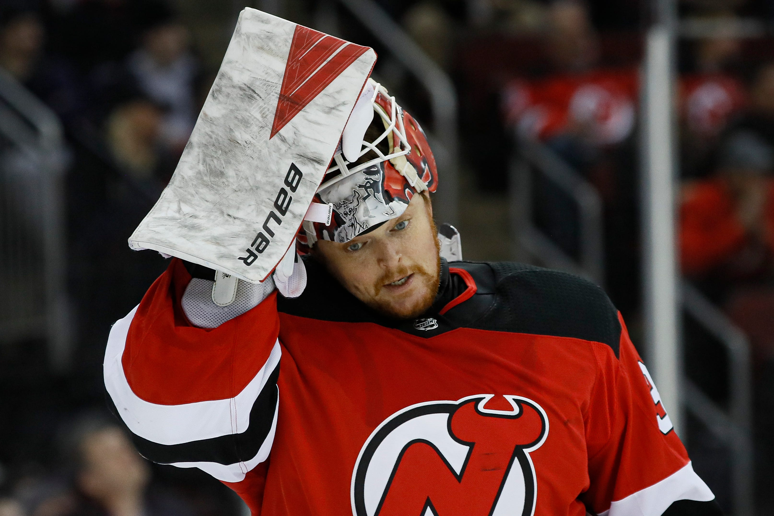 NJ Devils' goalie Cory Schneider dealing with life in limbo in the NHL