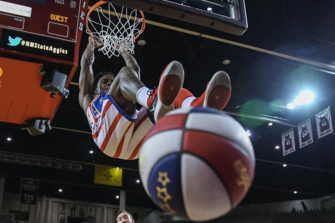 The World-famous Harlem Globetrotters will look to 'Spread Game' at the Pensacola Bay Center on Tuesday.