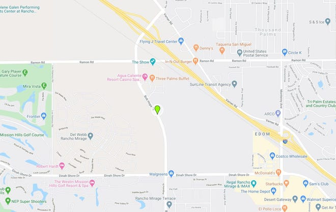 Three people were taken to a hospital on Friday night, Mar. 6, 2020, following a three-vehicle traffic collision in Rancho Mirage, authorities said. The incident was reported around 6:30 p.m. in the32000 block of Bob Hope Drive.