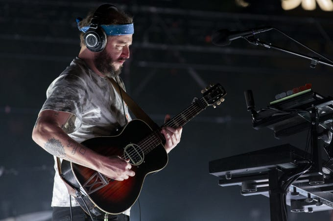 """Bon Iver performs during McDowell Mountain Music Festival on March 6, 2020, at Margaret T. Hance Park in Phoenix.&nbsp;<strong> </strong> <strong>More from M3F 2020:</strong> <a href=""""https://www.azcentral.com/story/entertainment/music/2020/03/07/m-3-f-2020-bon-iver-concert-downtown-phoenix/4985920002/"""">Bon Iver&#39;s transcendent headlining set</a> <strong> </strong>&nbsp;<a href=""""https://www.azcentral.com/picture-gallery/entertainment/music/2020/03/07/m-3-f-2020-people-downtown-phoenix-music-festival-photos/4954285002/"""">The people of M3F 2020</a><strong>  &nbsp;</strong><a href=""""https://www.azcentral.com/picture-gallery/entertainment/music/2020/03/07/m-3-f-2020-bands-downtown-phoenix-hance-park-music-festival/4954950002/"""">The bands of M3F 2020</a> <strong> </strong><a href=""""https://www.azcentral.com/story/entertainment/music/2020/03/07/m-3-f-2020-music-festival-review-best-worst/4977302002/""""> Highs &amp; lows of the downtown music festival</a>"""