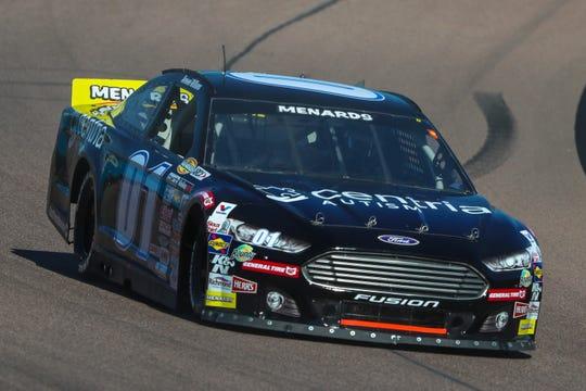 ARCA Menards Series driver Armani Williams (01) drives during a qualifying session on Mar. 6, 2020 at Phoenix Raceway in Avondale, AZ. (Brady Klain/The Republic)