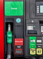 A diesel pump in Yerington.