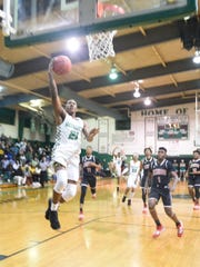 """Bossier's Cody """"Duke"""" Dean was named the MVP on the 2020 All-District 1-3A boys basketball team."""
