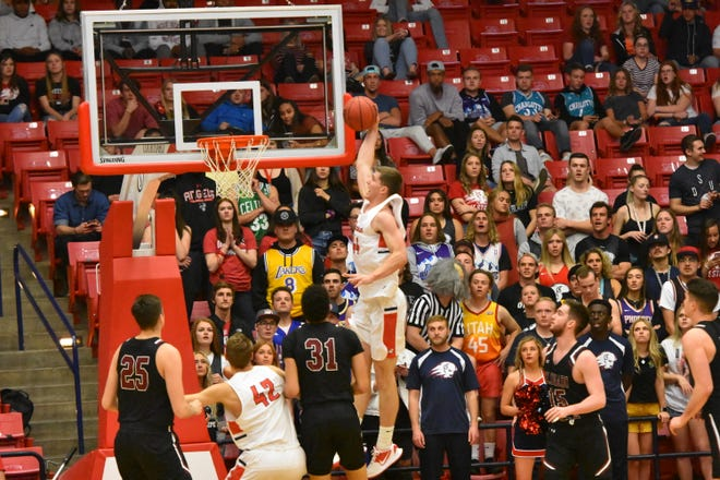 Dixie State takes on Colorado Mesa in the RMAC semifinals at Burns Arena.