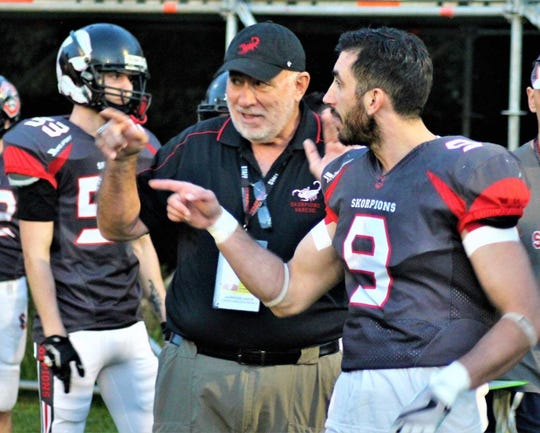 George Contreras has been coaching American football for the past 12 years, including the last three in Northern Italy.