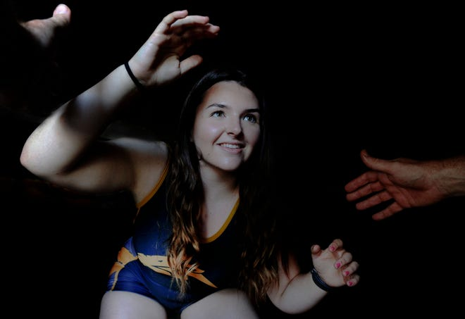 Newbury Park junior Julia Richey finished an impressive run in the state tournament by winning the 235-pound title.