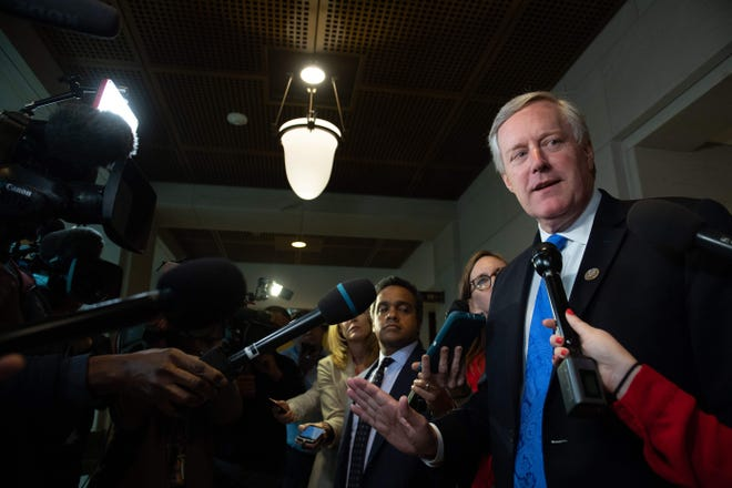 Rep. Mark Meadows came into contact with an individual who has tested positive for COVID-19 but is self-quarantining anyway, his spokesman said on March 9.