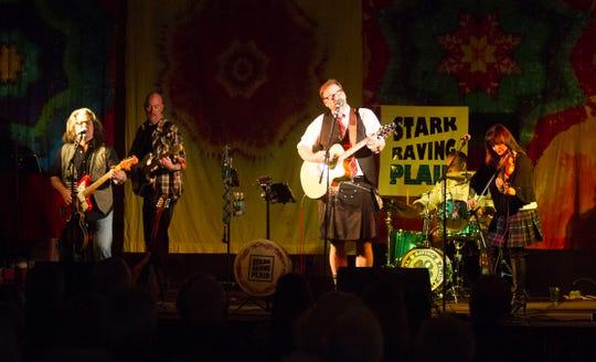 Stark Raving Plaid get their Celt on at the recent Ocean Shores Celtic Music Festival.