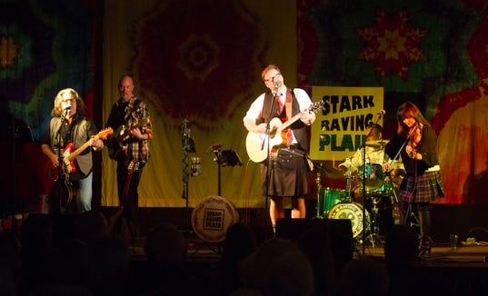 Stark Raving Plaid headline a Saint Patrick's Extravaganza March 14 at the Admiral Theatre in Bremerton.