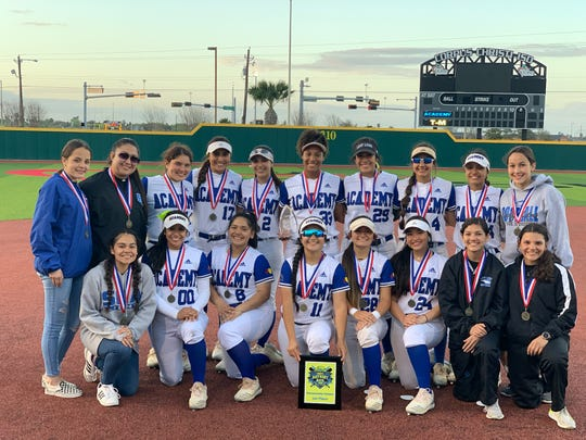 Santa Gertrudis Academy won the Mira's Bayfront Bash on Saturday with a win against Tuloso-Midway.