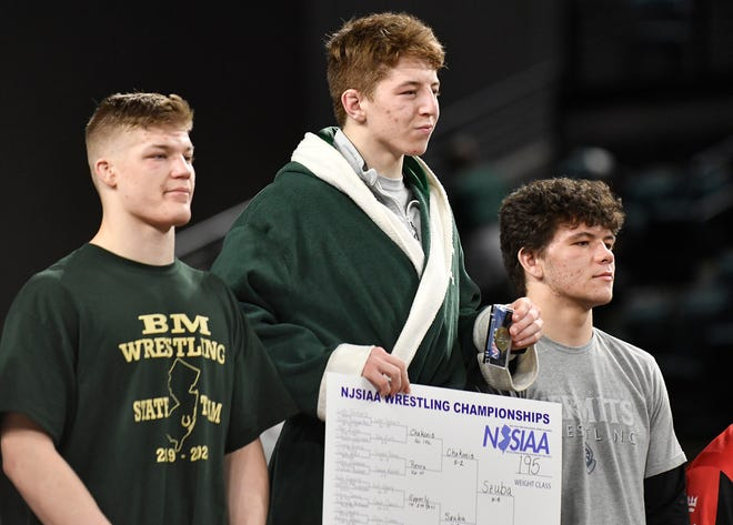 Camden Catholic's Martin Cosgrove captured the 195-pound state title in March, but it's uncertain if he will get the opportunity to defend his crown this winter. While the NJSIAA released dates for a wrestling postseason on Thursday, it wasn't determined if there would be a state tournament.