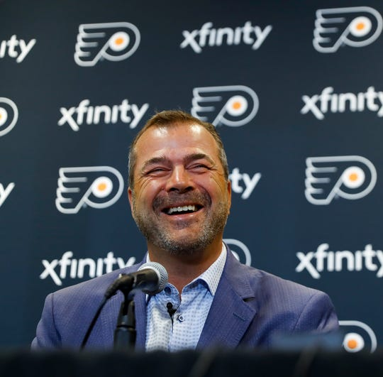 Alain Vigneault has coached the Flyers to a 41-20-7 record so far this season.