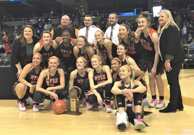 Ryle girls basketball, Ninth Region champions, March 8, 2020.