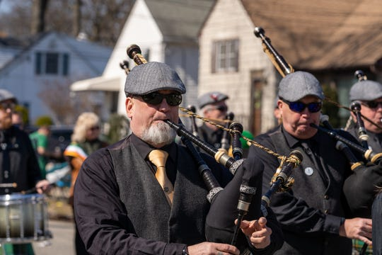 With the luck-o-the Irish paving the way, the47th Annual St. Patrick's Day Parade, considered the largest St. Patrick's Day parade in Central New Jersey, stepped offona glorious sunny Sunday.