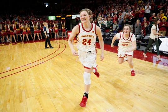 Iowa State star Ashley Joens was willing to do whatever it takes to get some work in during the COVID-19 pandemic over the summer.