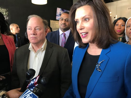 Gov. Gretchen Whitmer rejects a shelter-in-place order.