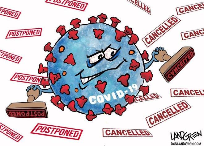 Coronavirus cancels events.