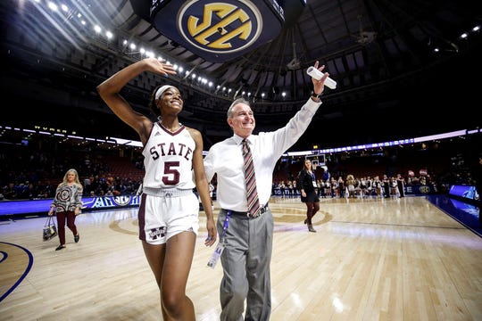 Mississippi State head coach Vic Schaefer is optimistic in his team's NCAA Tournament chances even after the Bulldogs lost to South Carolina by 14 in the SEC Tournament Championship Game.