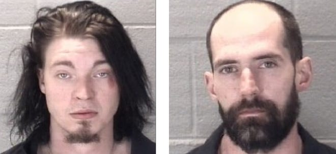 Joseph Wilkerson, left, and Floyd Smith were arrested by Lafayette police in connection with the March 7, 2020, stabbing death of Donald Alkire in the 500 block of North Seventh Street, just north of downtown Lafayette.