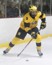 Chet L'Esperance scored the first of three third-period goals that lifted Hartland to a 3-1 victory over Rockford in the state Division 2 hockey quarterfinals.