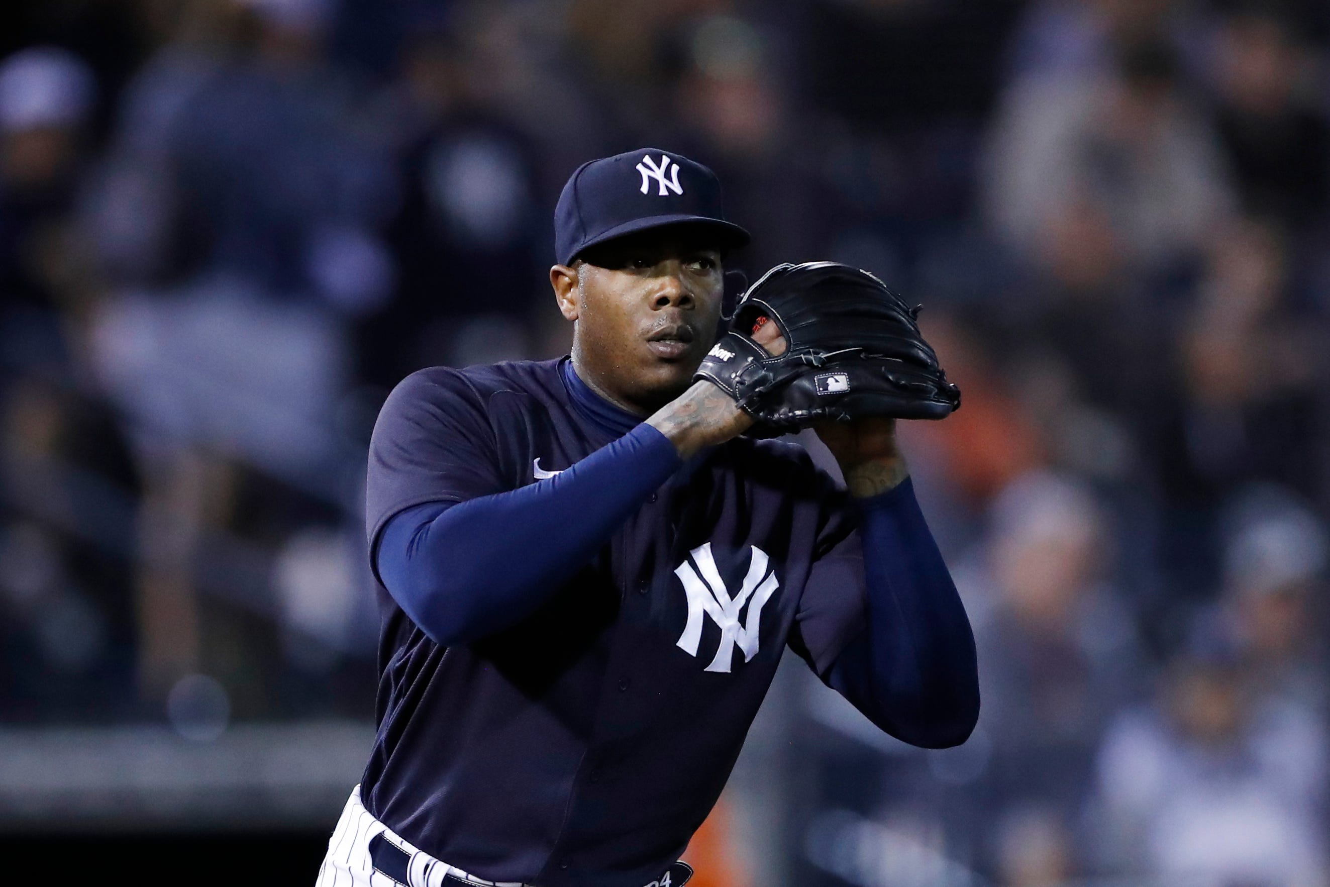 Aroldis Chapman New York Yankees Baseball Player Jersey