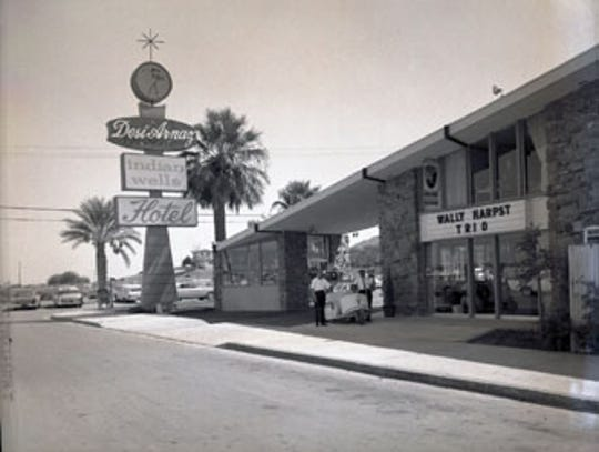 Desi Arnaz' Indian Wells Hotel.