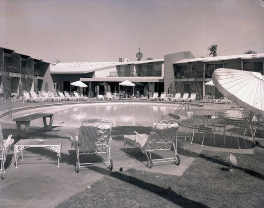 Desi Arnaz' Indian Wells Hotel featured midcentury design.
