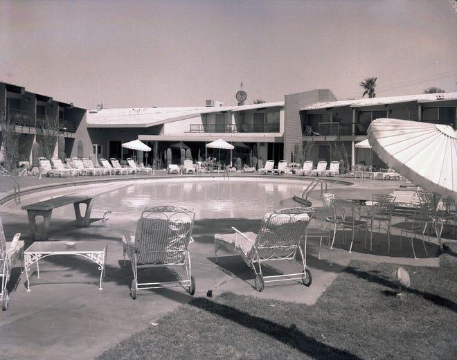 Desi Arnaz' Indian Wells Hotel featured midcentury design.