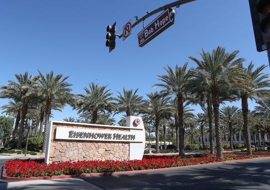 A patient with the coronavirus has been admitted to Eisenhower Health in Rancho Mirage, Calif., March 8, 2020.