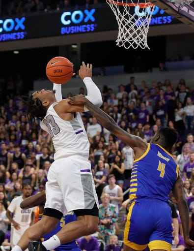 Scenes from Grand Canyon basketball's game against California State-Bakersfield on Saturday, March 7, 2020, at Grand Canyon University Arena.