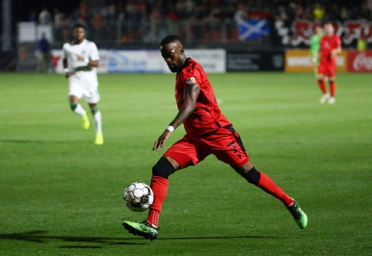 Phoenix Rising FC forward Junior